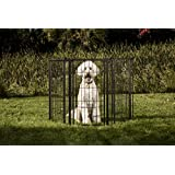 Carlson Pet Products 480 Supergate Extra Tall With Small Pet Door Black, 36X144 In