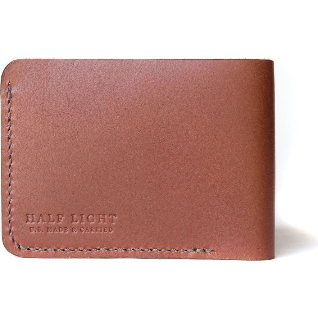 Half Light Bindery Billfold Wallet Hazelnut