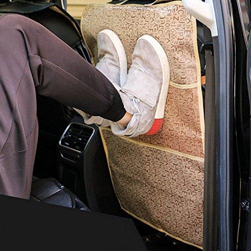 UNAKIM--Multifunction Car Seat Back Protector Cover Waterproof Seat Children Kick - Phone Online Dealers