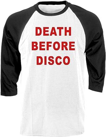 Amazon Com Guacamole Death Before Disco Movie 80 S Retro Raglan Tee Clothing