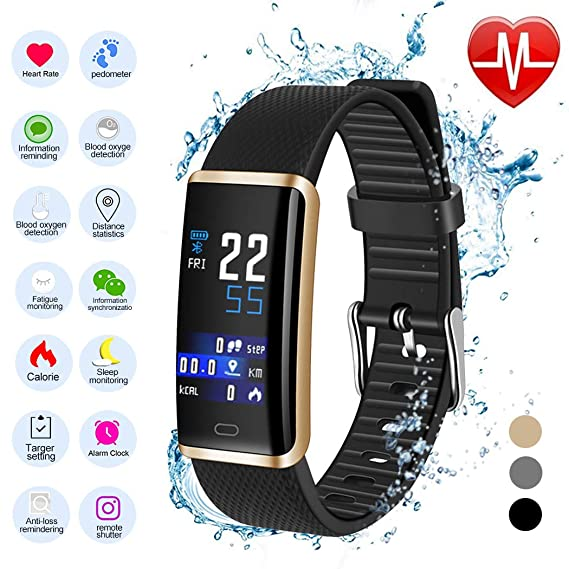 Amazon.com: Smartwatch and Watch Cell Phone Black for iPhone ...
