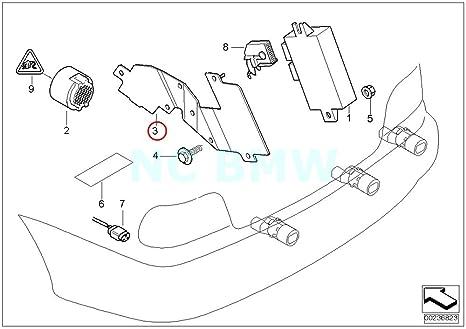 amazon bmw genuine bracket control unit pdc automotive BMW 325I Engine Diagram image unavailable