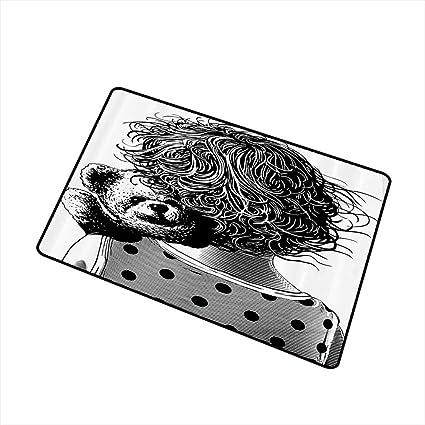 Amazon.com: Felpudo infantil ilustración de barco lleno de ...