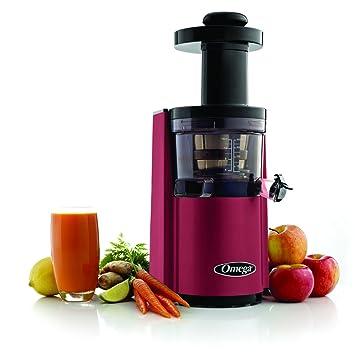 Omega VSJ843RR - Exprimidor eléctrico, 1 L, Color Rosso: Amazon.es: Hogar