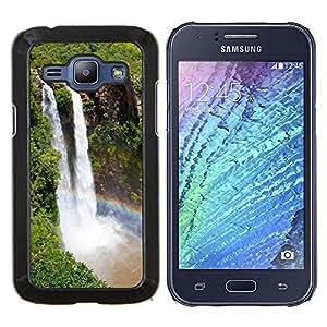For Samsung Galaxy J1 J100 Case , Cascada Niagara Falls- Diseño Patrón Teléfono Caso Cubierta Case Bumper Duro Protección Case Cover Funda