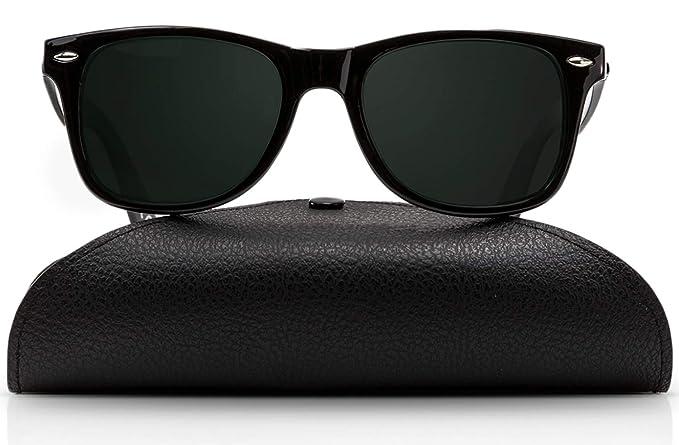 f91afff9d0 Amazon.com  Wayfarer Polarized Sunglasses for Men and Women