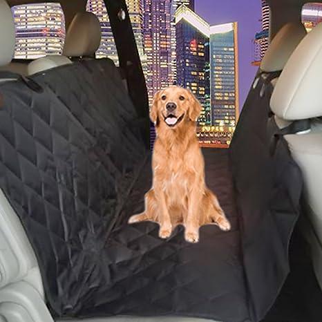 Pets Finer - Funda para asiento de perro antideslizante para perros - Funda de asiento de seguridad para mascotas protege la tapicería de coches, ...