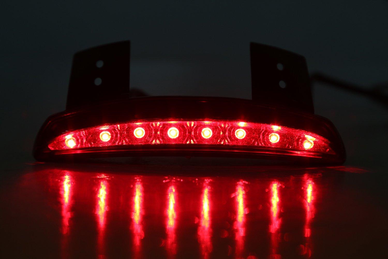 Fanale Posteriore OSAN Faro Posteriore Fender Edge LED Lampada Per Harley Davidson 883 XL883N XL1200N