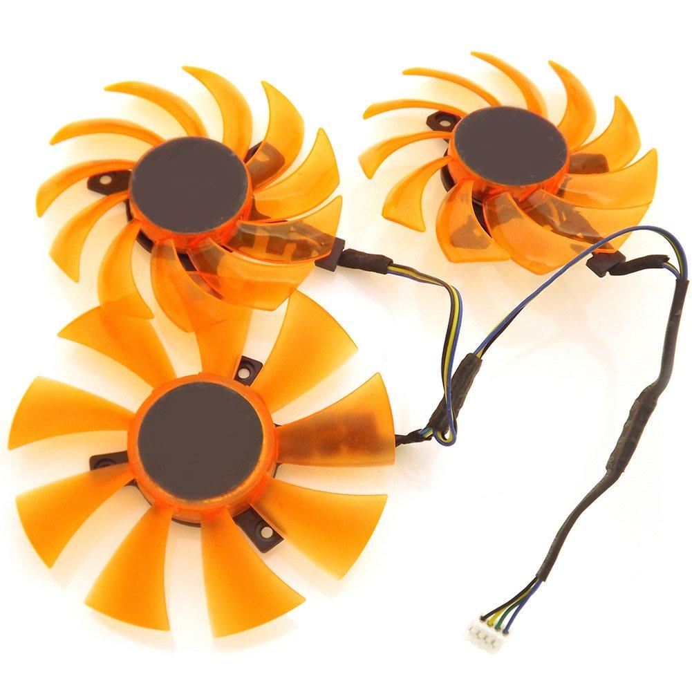 3pcs/lot APISTEK GA91S2H GA81S2U 12V 4Wire 4Pin For ZOTAC Cooling Fan
