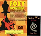 Foxy Chess Openings V144: Easy to Learn Step by Step Strategies on How to Think and Play Like a Grandmaster & ChessCentral's Art of War E-Book (2 Item Bundle)