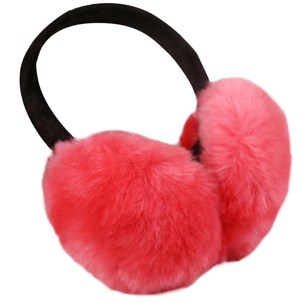 La Vogue Faux Fur Fluffy Back Ear Cover Warmer Muffs Earmuffs