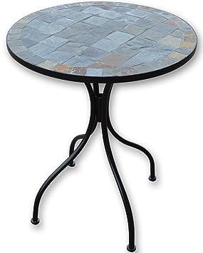 Woodside - Table basse - pour le jardin/l\'extérieur - motif mosaïque ...