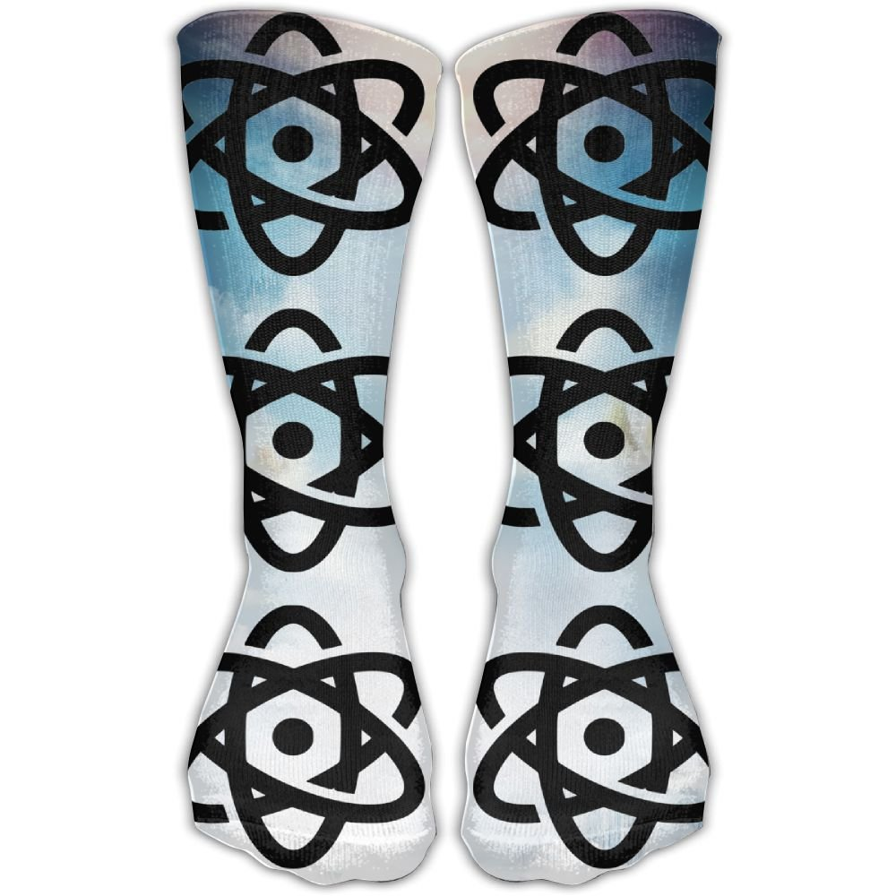 SESY Scientific Atom Unisex Crew Socks Short Sports Socks.
