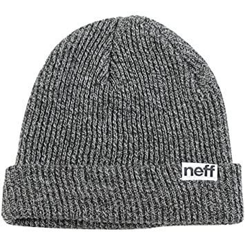 9564bf85f13 Image Unavailable. Image not available for. Color  NEFF Fold Heather Men s  Beanie Casual Hat - Black White ...