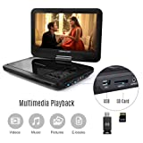 【Upgraded】 DBPOWER Portable DVD Player with