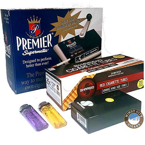 Premier Supermatic Cigarette Rolling Machine+ Free for sale  Delivered anywhere in USA