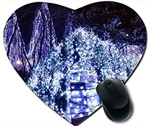 A Fan Of Christmas Lights Mouse Pad Desktop Mousepad Laptop Mousepads Comfortable Office Of Mouse Pad Mat Cute Gaming Mouse Pad