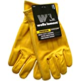 Wells Lamont Premium Leather Gloves - Size: Mens Large by Wells Lamont