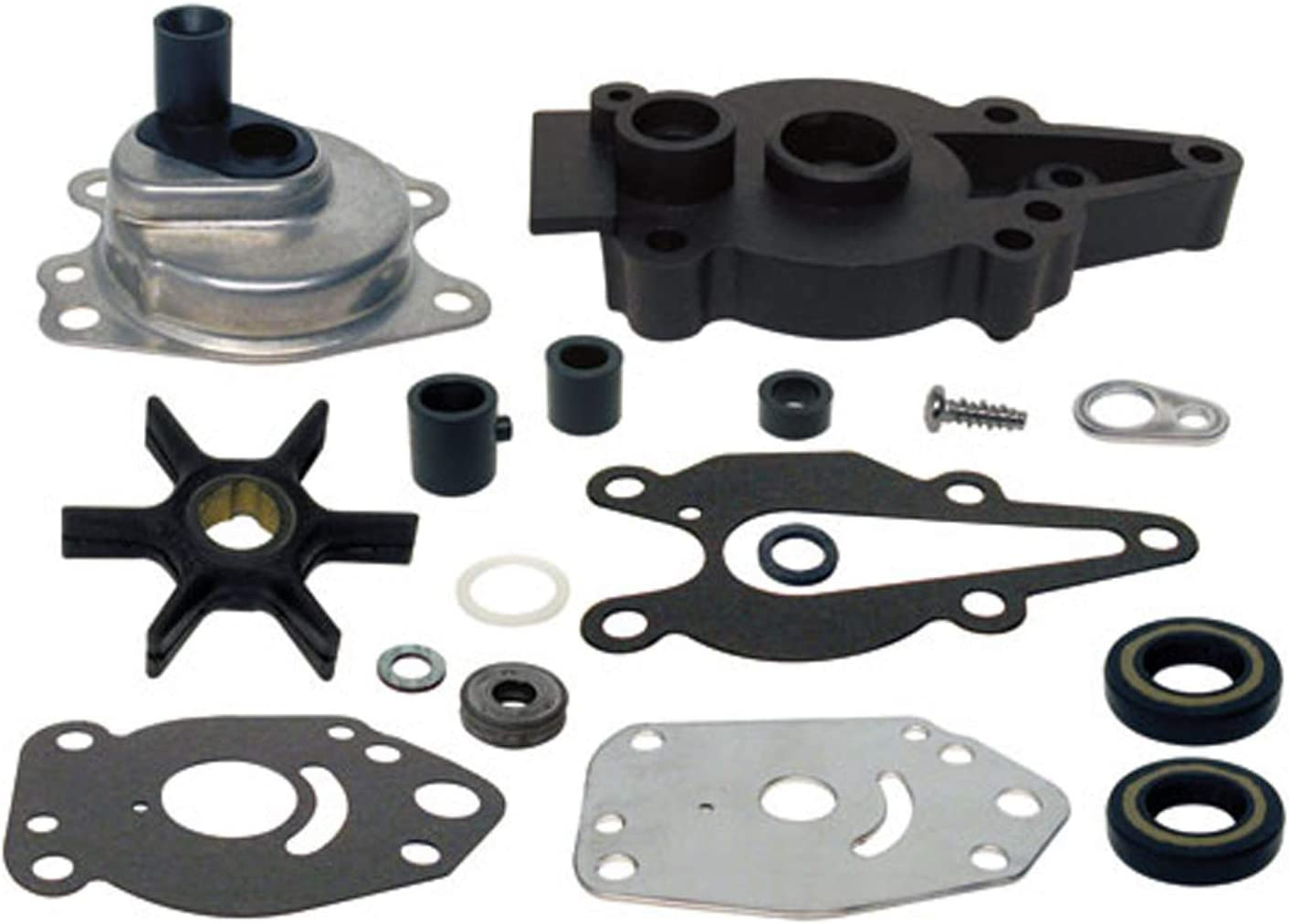 Mercury 9.9 15HP Outboard Parts Water Pump Impeller Kit Replacement 46-42089A5