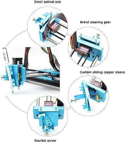 Plotter Writer Robot | Kit de robot escrito a mano Dibujo automático Máquina de escribir Plotter X Y Eje Máquina de firma B(500MW): Amazon.es: Oficina y papelería
