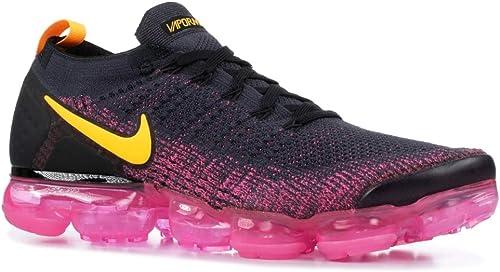 men's nike air vapormax flyknit 2 running shoes black