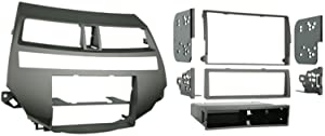 Metra 99-7875T Single/Double DIN Installation Kit for 2008-2009 Honda Accord Vehicles with Dual Zone Climate Control, Taupe