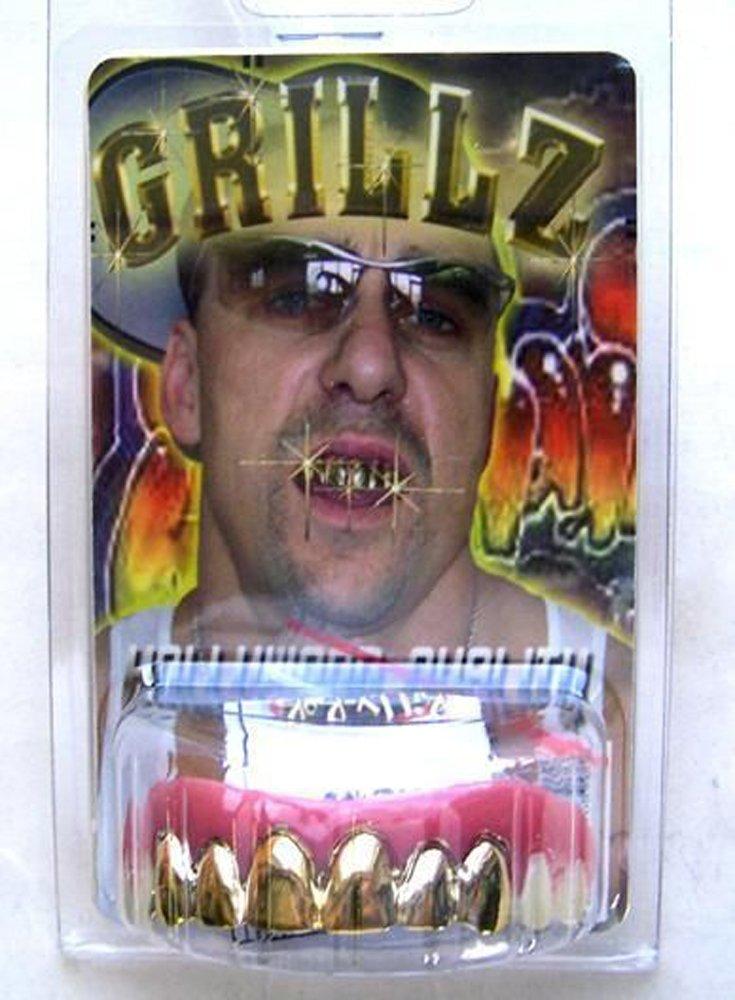 Gold Grills Fake Billy Bob Teeth