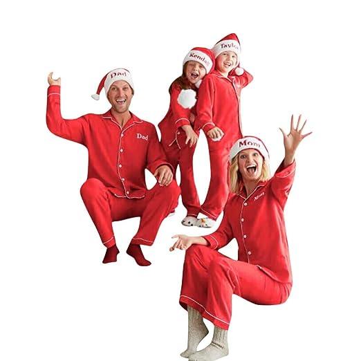 family christmas pajamas xmas pajamas sets outfit letter print matching family pjs womens mens kids homewear