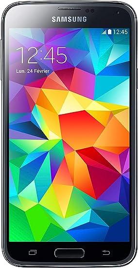 Samsung Galaxy S5 de 16GB, smartphone libre negro: Amazon.es ...