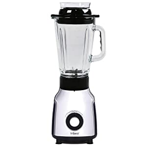 Tribest PBG-5001-A Personal Vacuum Glass Blender, One-Size, Black