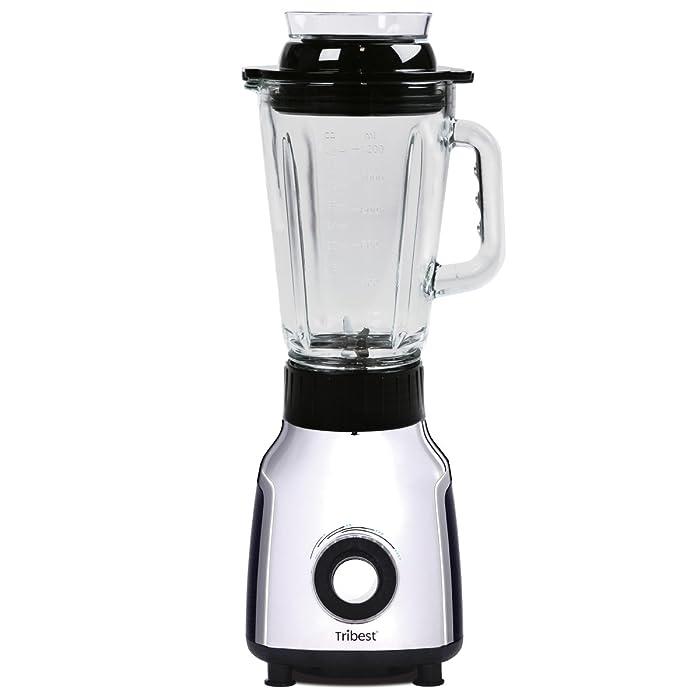 Tribest PBG-5001-A Personal Vacuum Glass Blender, One-Size, Black