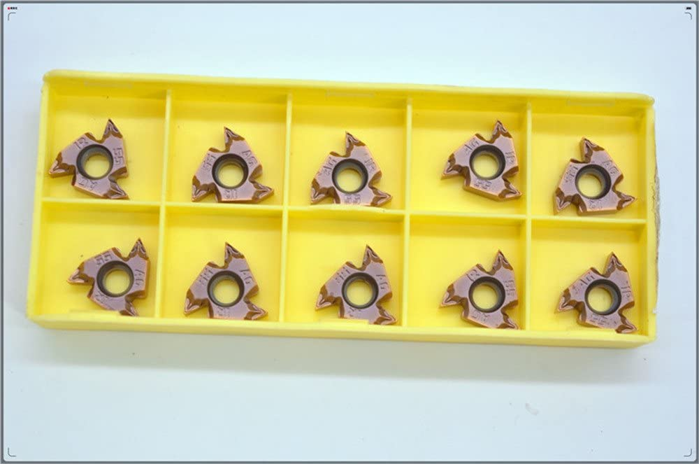 cast iron steel 10PCS 16 IRM AG55 LF6018 threading carbide insert milling cutter,cutting inserts,for processing stainless steel