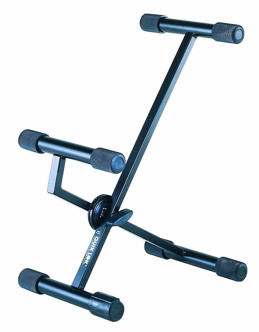 Quik Lok BS/313 - Soporte para altavoces (pequeño, en X, cuello largo, inclinable) Quik-lok