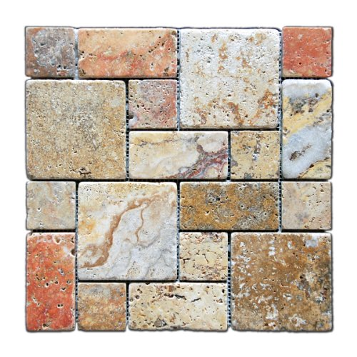 scabos-travertine-3-pieced-mini-pattern-mosaic-tile-tumbled-6-x-6-sample