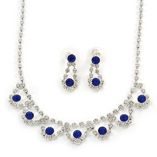 Avalaya Suite/boda/troqueles con forma de diseño de vestido de fiesta azul zafiro