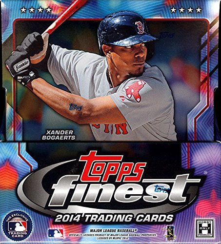 1 (One) Box - 2014 Topps Finest Baseball Hobby Box (Master Box)