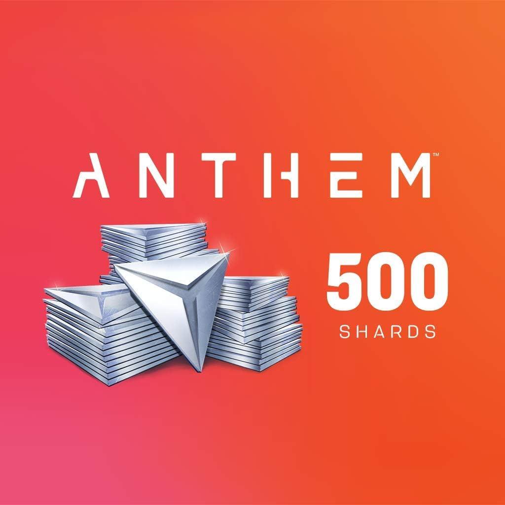 Amazon com: ANTHEM: ANTHEM 500 SHARDS PACK - PS4 [Digital Code