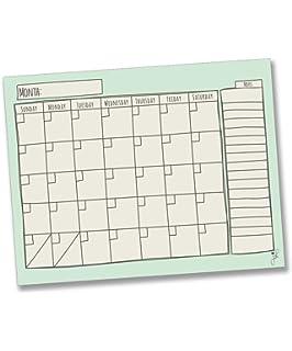 amazon com jennakate magnetic weekly chart chalkboard design