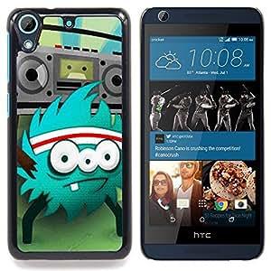 """Planetar ( Gatos Arte Plan de pintura Luna"""" ) HTC Desire 626 Fundas Cover Cubre Hard Case Cover"""