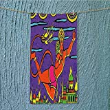 SeptSonne sports towel Ramayan Epic Legend Divine God Culture Sacred Holy Avatar Design Fast Drying, Antibacterial W11.8 x H27.5 INCH