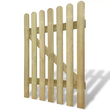 Cancello Di Legno Per Giardino 100 X 120 Cm Questo Design Del