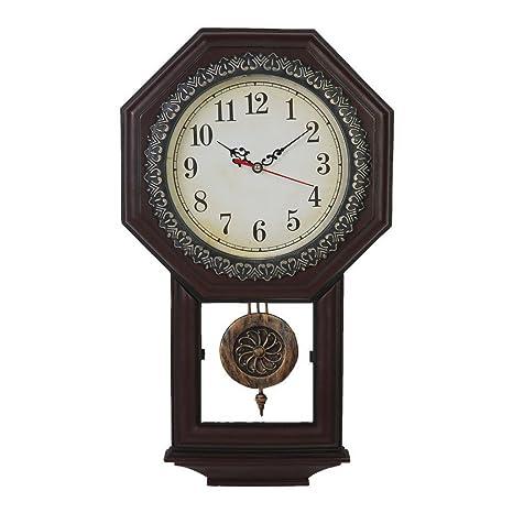 Giftgarden Reloj de Péndulo de Estilo Vintage Clásico