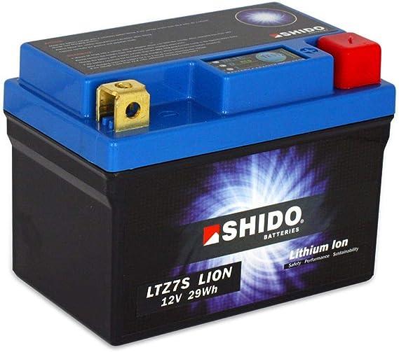 Batterie 12v 2 4ah 6ah Ytz7s Lithium Ionen Shido Connect Cbr 1000 Rr Fireblade Sp Abs Sc59 14 16 Auto