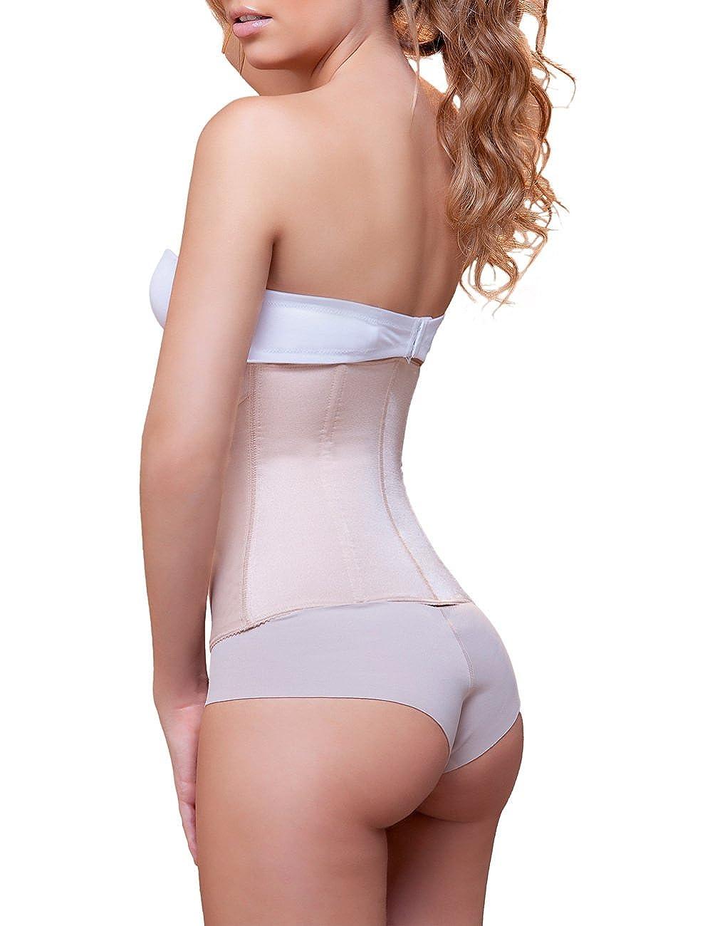 90b4bff25d Vedette 939 Women s Joy Double Layer Waist Cincher w  Zipper at Amazon  Women s Clothing store