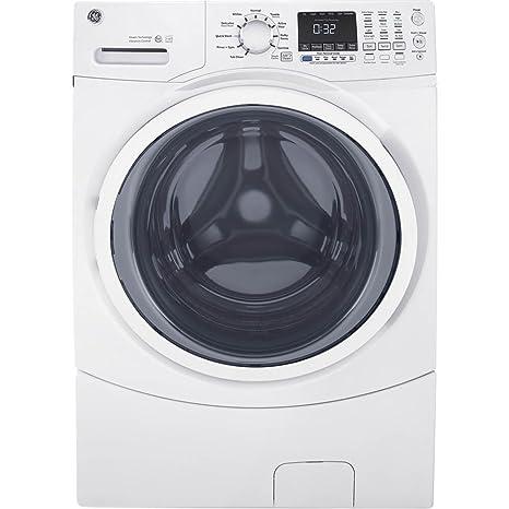 GE GFW450SSMWW lavadora de vapor de carga frontal, 4.5 cu. de ...