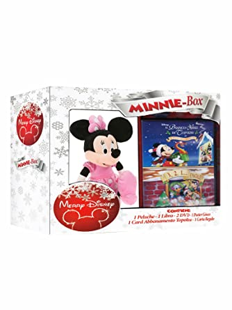 Merry Disney Box Minni (2 Dvd+Libro+Peluche) [Italia]