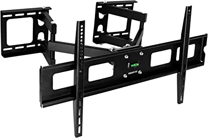 Full Motion Swivel Arm TV Wall Mount Flexible Corner Bracket for Vizio LG 32-65/""