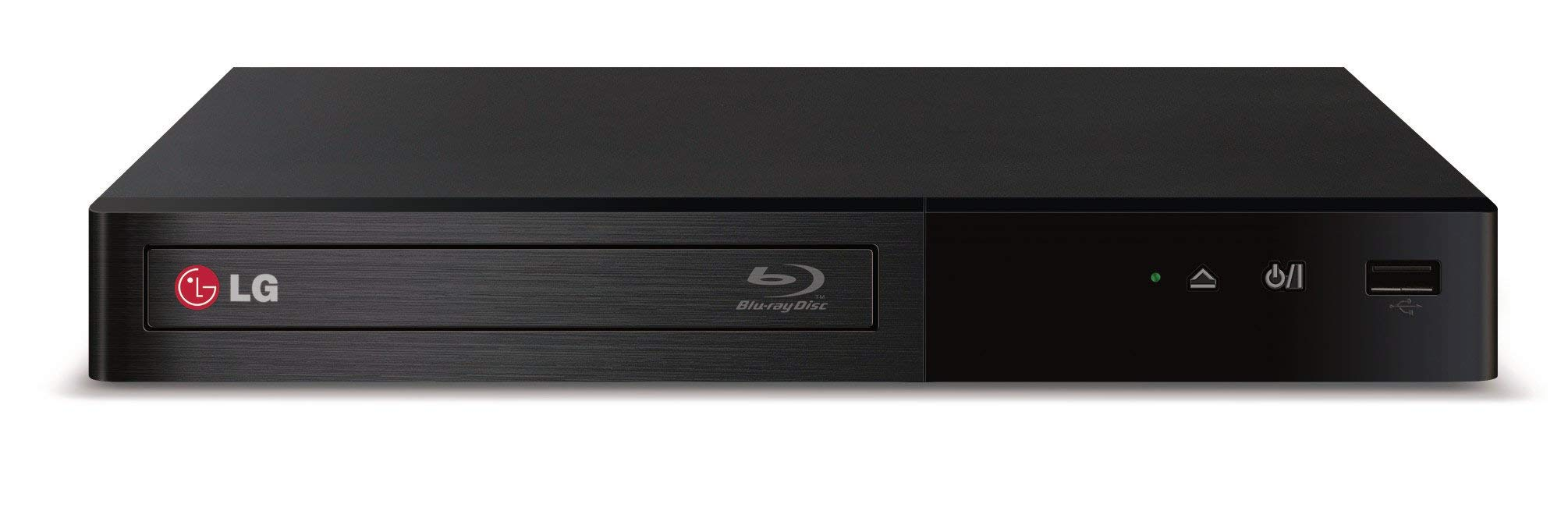 LG Electronics BP340 Blu-Ray Disc Player with Built-in Wi-Fi (2014 Model) (Renewed) by LG