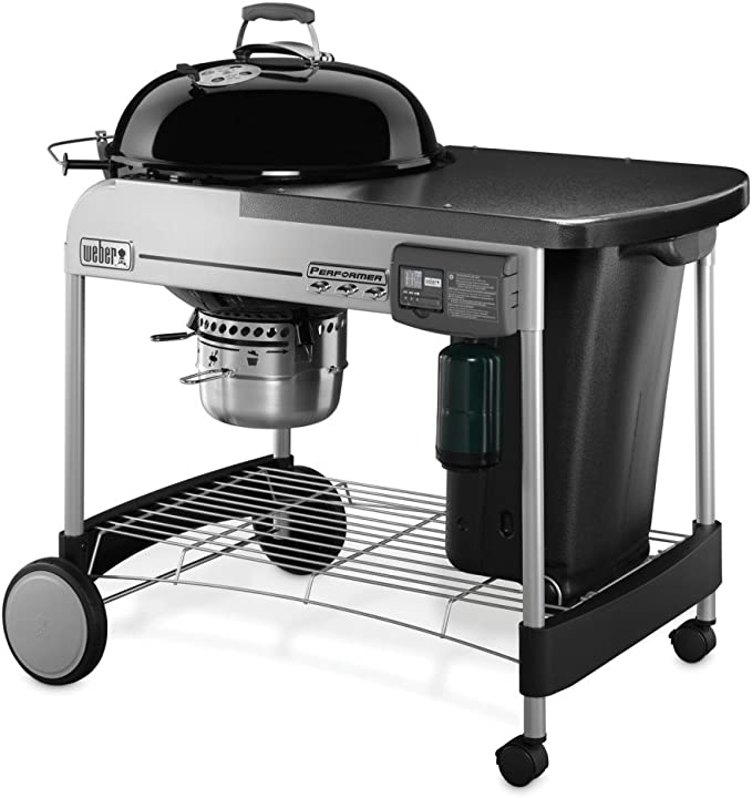 Weber 15502001 Performer Deluxe Charcoal Grill – Best High-End Option