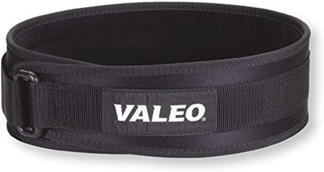 best velcro weightlifting belt valeo 4 inch lifting belt